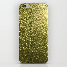 Gold Glitter Sparkle iPhone & iPod Skin