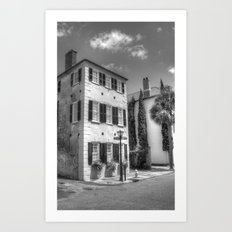 Charleston S.C. Architecural Art Print