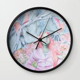 The Enchantress Wall Clock