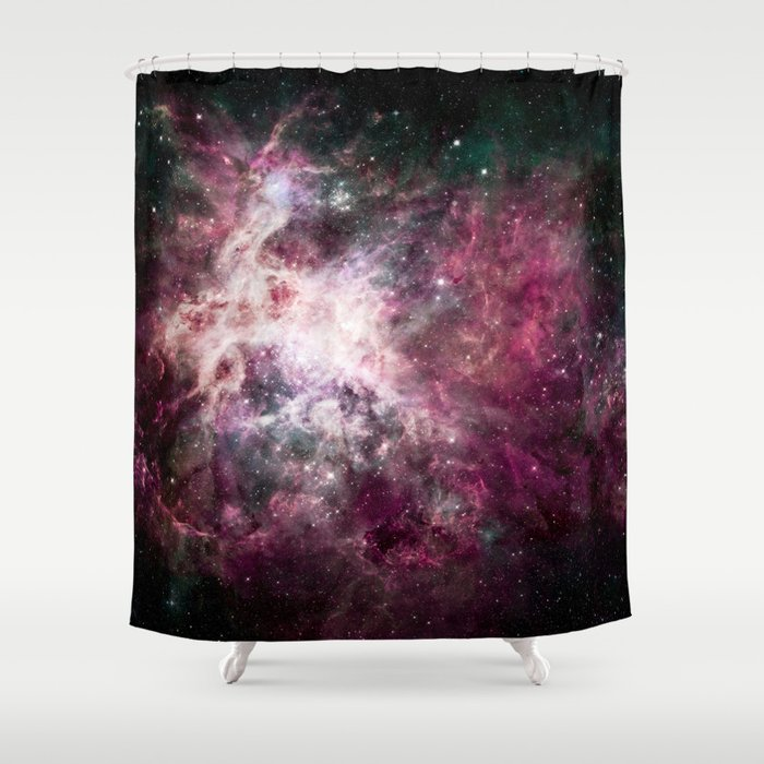 Nebula 25M Shower Curtain