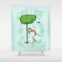 coconut wishes Shower Curtains featuring Wishes by Giuseppe Lentini