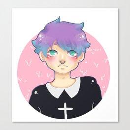 Pastel goo Canvas Print