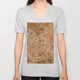 geometric abstract Unisex V-Neck