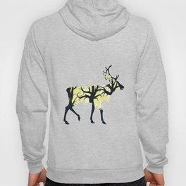 Night Deer Silhouette Hoody