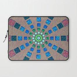 Ethnic wheel Laptop Sleeve