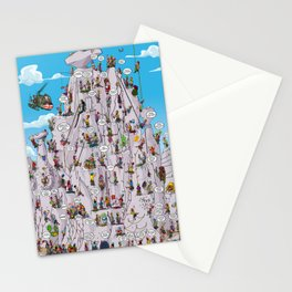 Bubble climbing Stationery Cards