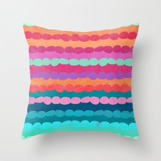 Brite Stripe Throw Pillow
