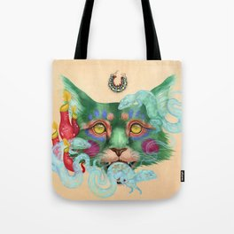 Thrice Wearing Out the Hide Tote Bag