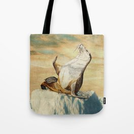 Greetings From The Arctic Tote Bag