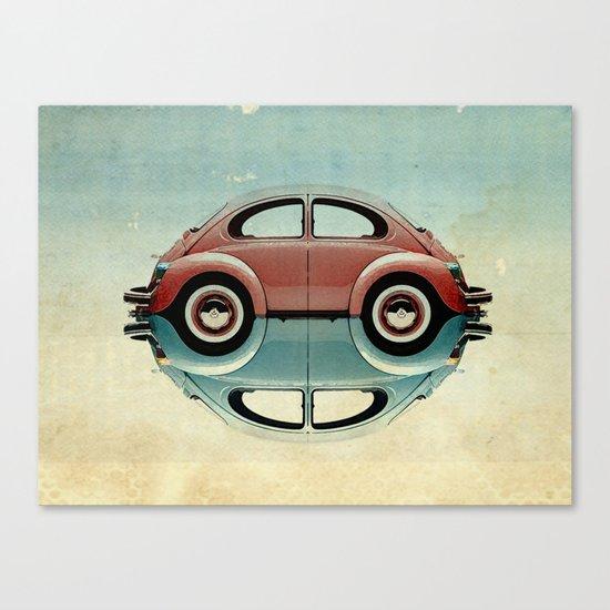 4 speed Bug Canvas Print