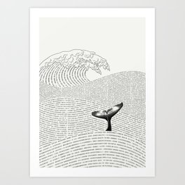 The Ocean of Story Art Print