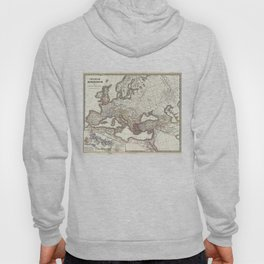 Vintage Map of The Roman Empire (1865) Hoody