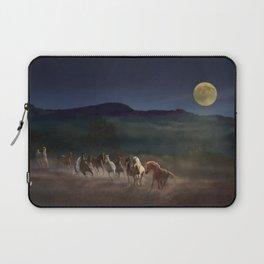 Moonlight Run Laptop Sleeve