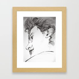 James Framed Art Print