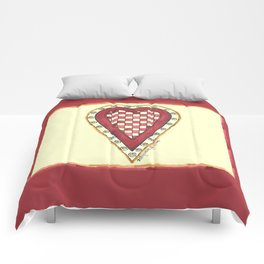 My Checkered Heart Comforters