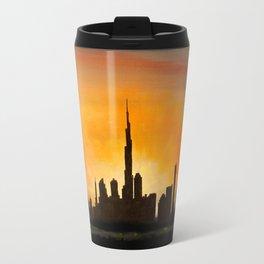 Downtown Dubai Travel Mug