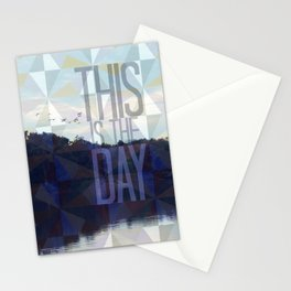 This is the Day Christian Design Stationery Cards