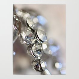 Sparkle - JUSTART ©, macro photography. Poster
