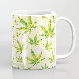Weed OG Kush Pattern Coffee Mug