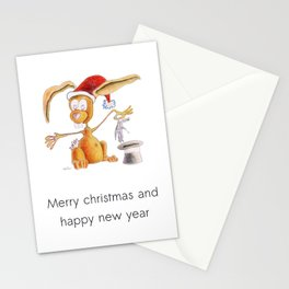 A nice, magic bunny Stationery Cards