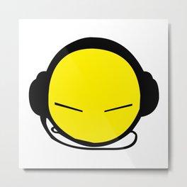 DJ Smile Rave 2 Metal Print