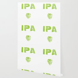 IPA Lot When I Drink Craft Beer Distressed Wallpaper