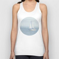 sailboat Tank Tops featuring Sailboat  by Pure Nature Photos