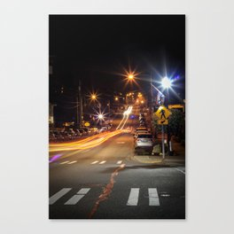 Streets Go By #2 Canvas Print
