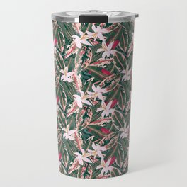 Crazy Tropical Plant Lady Travel Mug