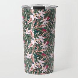 Crazy Tropical Plant Lady Travel Mug