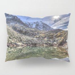 Mont Blanc Glacier Lake Pillow Sham