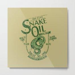 Snake Oil Liniment Metal Print