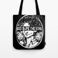 cargline Tote Bags featuring that zine that I made that one time by cargline