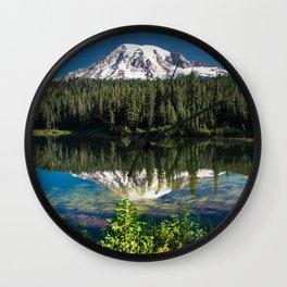 Reflection Lake Landscape Wall Clock