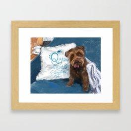 Queen Piper Framed Art Print