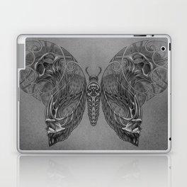 Butterfly skulls 2 Laptop & iPad Skin