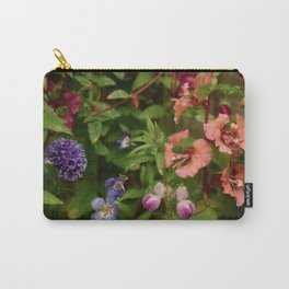 Wildflower Garden In The Morning Carry-All Pouch
