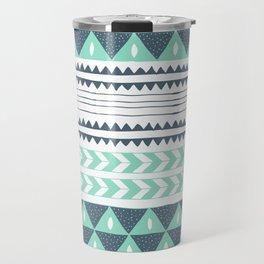 Winter Stripe Travel Mug