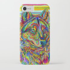 Psychedelic Wolf iPhone 7 Slim Case
