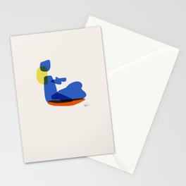Bather 4 Stationery Cards