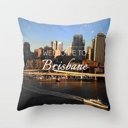 Brisbane, Australia Throw Pillow