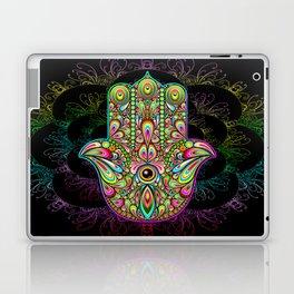 Hamsa Hand Amulet Psychedelic Laptop & iPad Skin