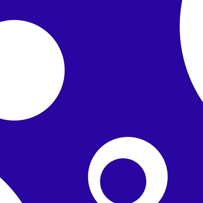 Circles Dots Bubbles :: Blueberry Leggings