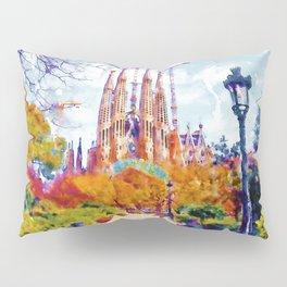 La Sagrada Familia - Park View Pillow Sham