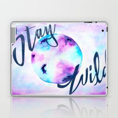 Stay Wild Moon Child - Boho Gypsy Watercolor Laptop & iPad Skin