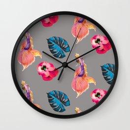 L U S H Wall Clock