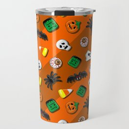 Halloween Spooky Candies Party Travel Mug