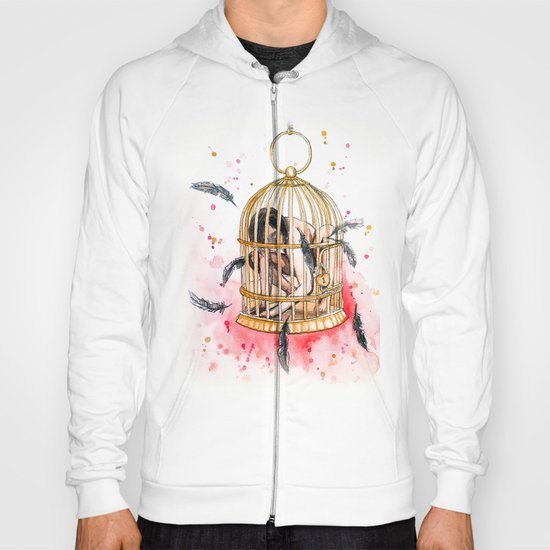 caged Hoody