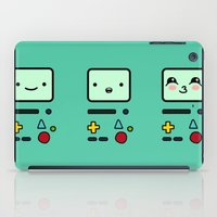 bmo iPad Cases featuring BMO by Janice Wong