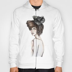 Queen of Diamonds // Fashion Illustration Hoody